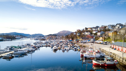 Panorama of Kristiansund, Norway
