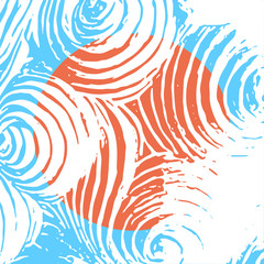 Vector science abstract vector texture background for cover magazine and template banners.