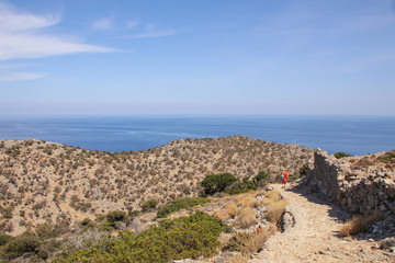 Wandern, Pilgern, Kreta, Akrotiri, Westkreta
