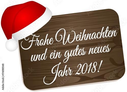 Frohe Weihnachten und einen gutes neues Jahr 2018\