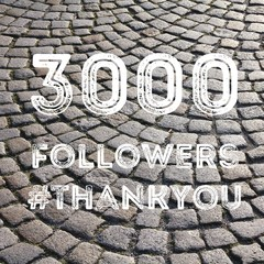 3000 followers