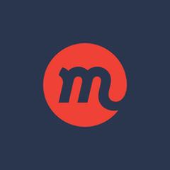 Letter M logo icon design template elements