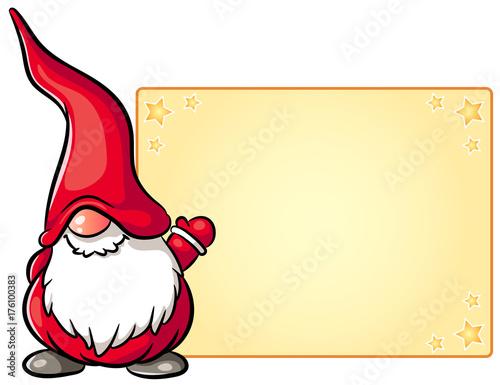 Niedlicher weihnachtswichtel vektor illustration stockfotos und lizenzfreie vektoren auf - Clipart weihnachtswichtel ...
