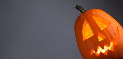 Glowing Halloween Pumpkin