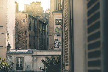 House Fassades around Montmartre - Paris