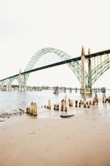 Beautiful Bridge Over Water
