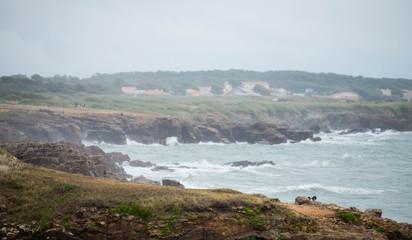 Bord de mer lesSables d'Olonne Vendée France