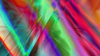 Abstract Linear Prism Background