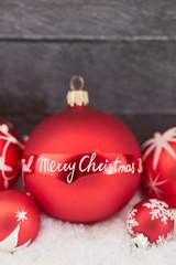 Merry Christmas Dekoration als Hintergrund