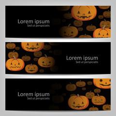 Abstract halloween  background brochure template.