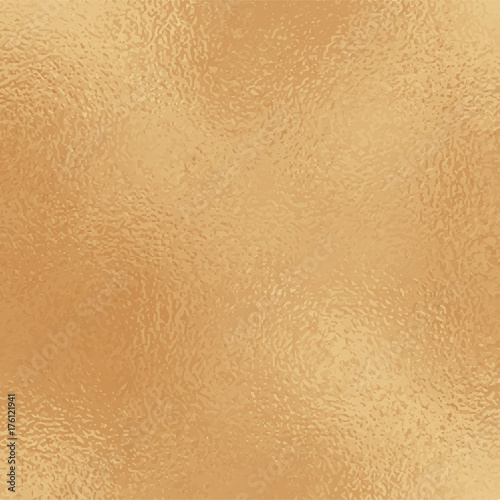 Metallic golden foil texture  Ancient gold foil square