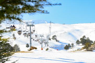 kayak merkezi & telesiyej ile ulaşım