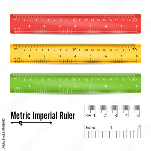 how to draw to scale from meters to centemeters