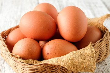 Chicken eggs are a popular food worldwide.