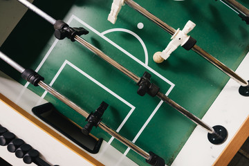 Table football offensive