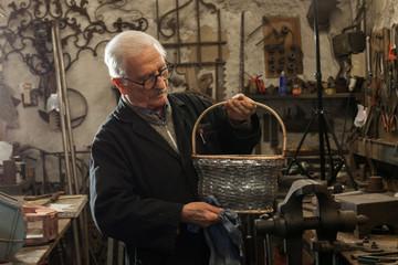 Blacksmith workshop, Italian craftsmanship.