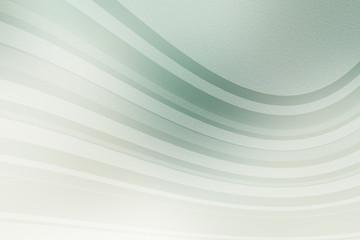 Schwungvolle Linien auf grünen Pastellfarben - Hintergrundbild Textfreiraum