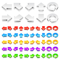 Color 3D Arrows