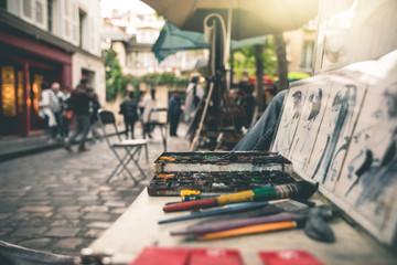 Art at Place du Tertre - Paris