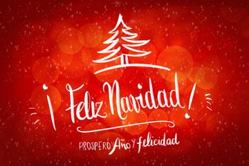 946efa105fe84 Feliz Navidad - prospero Año y Felicidad. Merry Christmas and Happy New  year in spanish