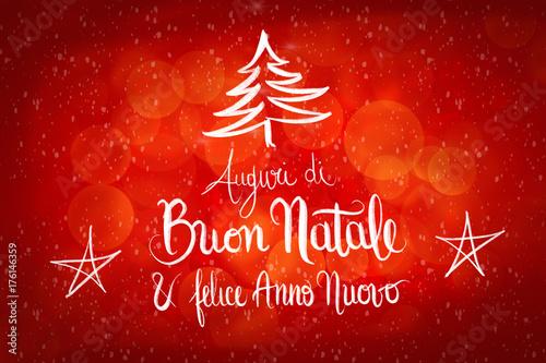 Buon Natale Anno Nuovo.Buon Natale E Felice Anno Nuovo Merry Christmas And Happy