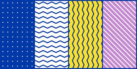 Colorful trend geometric pattern