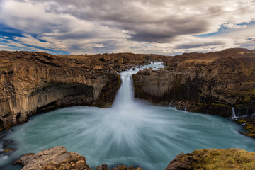 Aldeyjarfoss in North Iceland