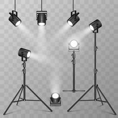 In de dag Licht, schaduw Spotlights stuff