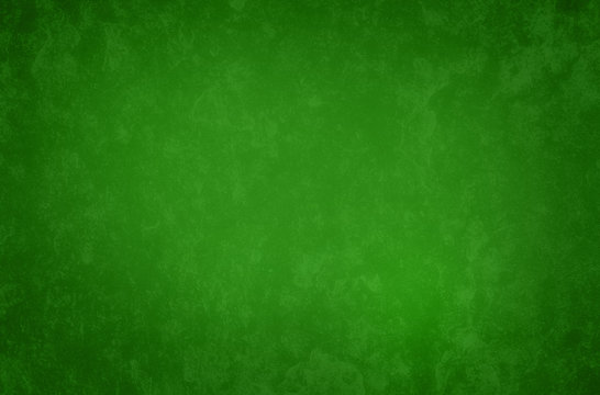 background in green Christmas color with old vintage texture design, classic holiday backdrop is solid green