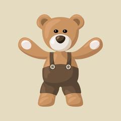 Teddy Bear with Pants