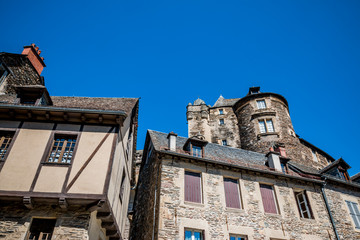 Le village et le château d'Estaing
