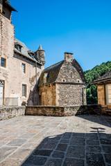 En visite dans le château d'Estaing