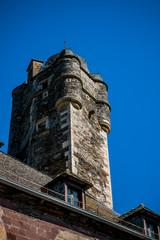 Le donjon du château d'Estaing