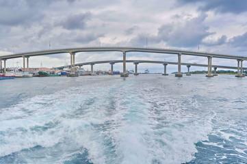 Sir Sidney Poitier Bridge, Nassau, Bahamas