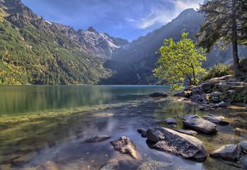 Fototapeta Morskie Oko lake in the Tatra Mountains, Zakopane, Poland obraz