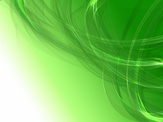 Energic abstract flame wave background with fantastic shapes