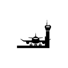 Aircraft in Airport icon