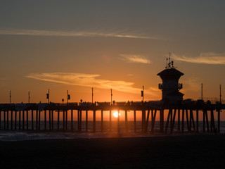 ビーチの夕陽 #2