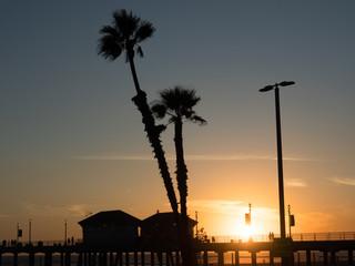 ビーチの夕陽 #5