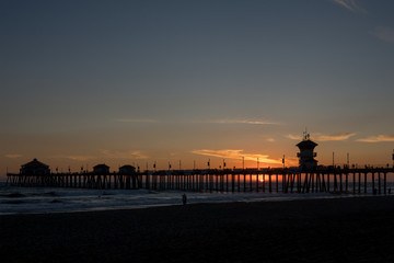 ビーチの夕陽 #1