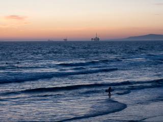 ビーチの夕陽 #6