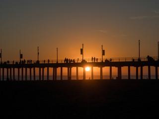 ビーチの夕陽 #3