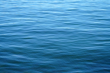 dark blue rippled sea surface