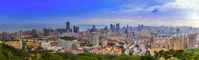 Qingdao coastal scenery