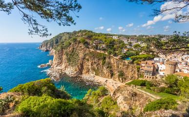 Tossa de Mar, Costa Brava, Catalogne, Espagne