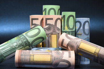 euros finances billet argent credit banque compte pret achat commerce