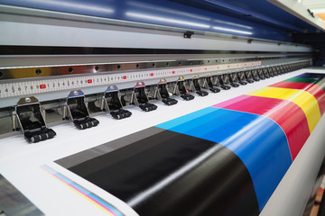 Wide-format inkjet printer