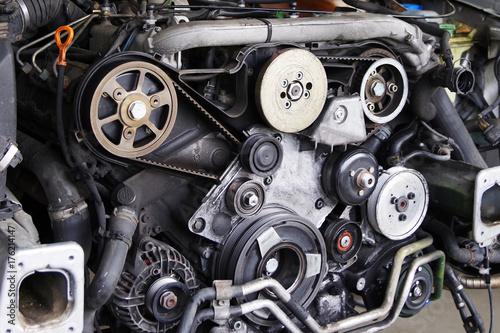 Automotor, Reparatur am Motor\