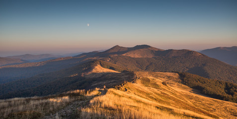 Canvas Prints Hill Beautiful mountains in Poland - Bieszczady