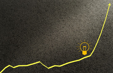 Graph, Kurve Idee Lösung Erfolg - Graph, curve idea solution success